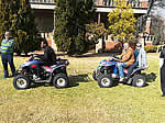 Quad biking at a venue of your choice