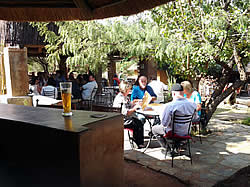 African Swiss Restaurant uses organic ingredients and caters for large groups at Hartbeespoort Dam