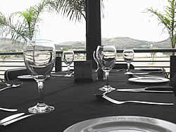 Grandstand Theatre for a great place to eat in Hartbeespoort Dam