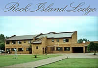 Rock Island Lodge on the Vaal Dam