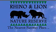 Rhino and Lion Chalet accommodation in The Cradle of Humankind